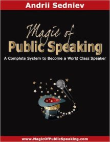Learn the Magic of Public Speaking from this book