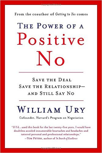 Learn  how to say no positively
