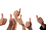 Ley your clients give you the thumbs up with a great testimonial