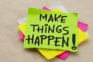 A small business coach will make things happen!