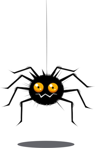 Important business networking tip: don't be a spider and put people off talking to you.