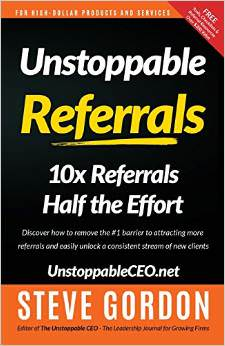 Unstoppable Referrals is well worth reading for your coaching business